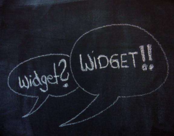 Widget online marketing