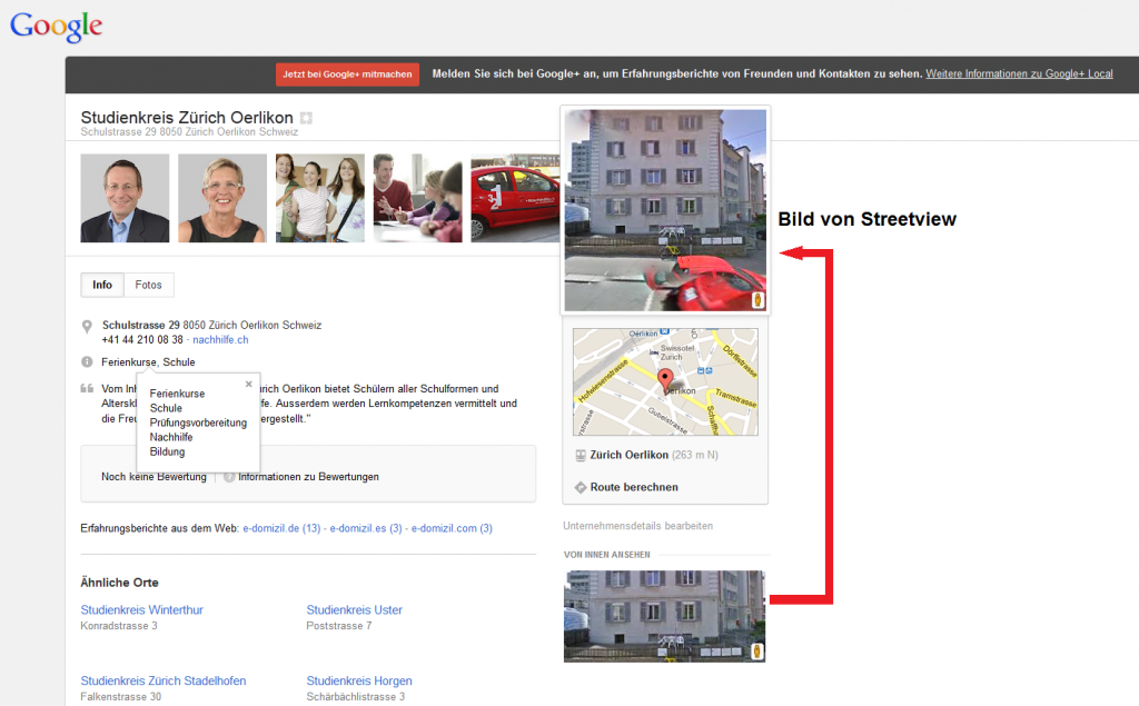 Google Plus Local SK2