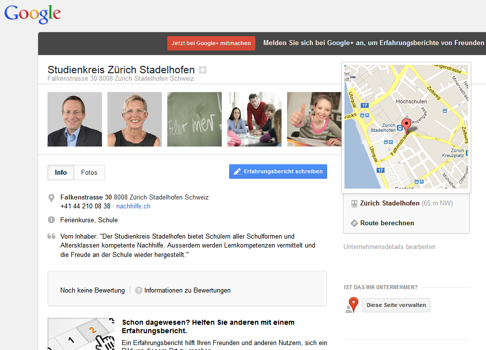 Google Plus Local SK3