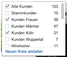 Google Plus ist anders als die Anderen Kreise2