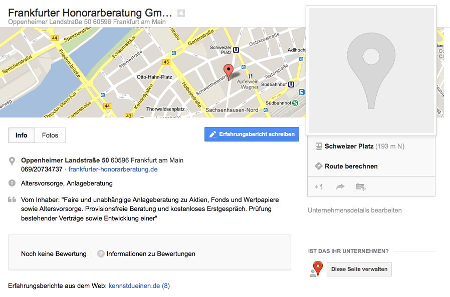 Google Places Plus Local Bilder Bug