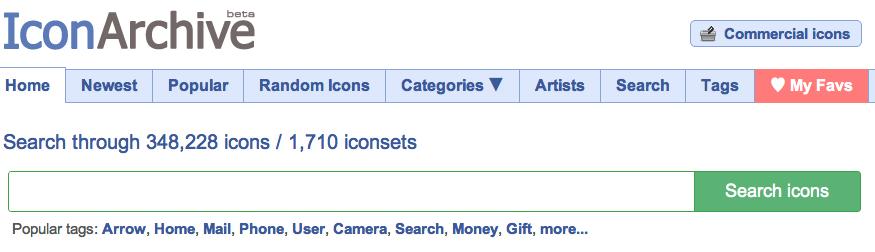 Gratis Icons und Grafiken auch für die kommerzielle Nutzung