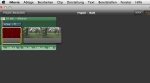 iMovie Audiobearbeitung Winlocal