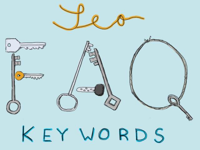 Zehn häufig gestellte Fragen zu SEO Keywords