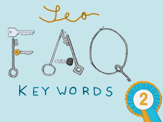 Häufige Fragen rund um das Thema Keywords für Website Texte und SEO