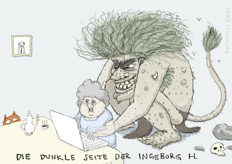 Was ist ein Troll im Internet? von Tobias Kerstin