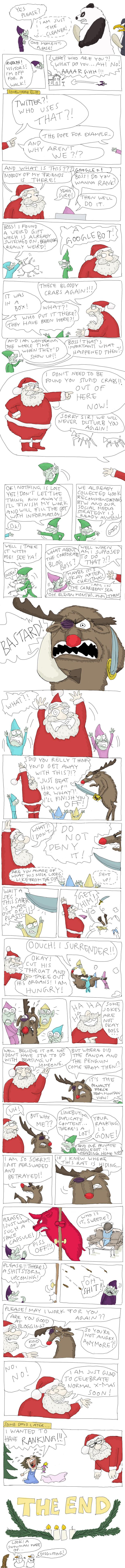 A SEO Christmas Story by Tobias Kerstin