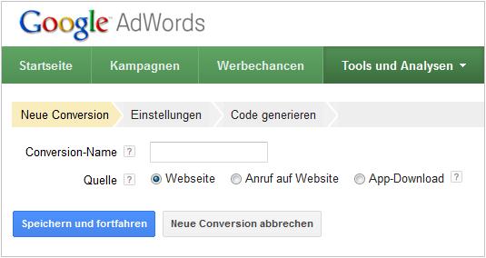 LoDiMa mit Google AdWords: Werbeerfolgsmessung