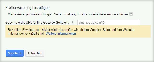 LoDiMa mit Google AdWords: Profilerweiterung