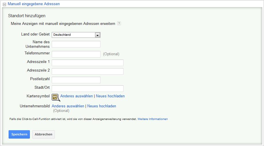 LoDiMa mit Google AdWords: Standorterweiterung