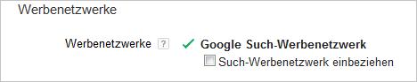 LoDiMa mit Google AdWords: Such-Werbenetzwerk