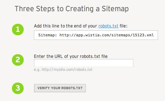 video Sitemap erstellen und in der website einfügen