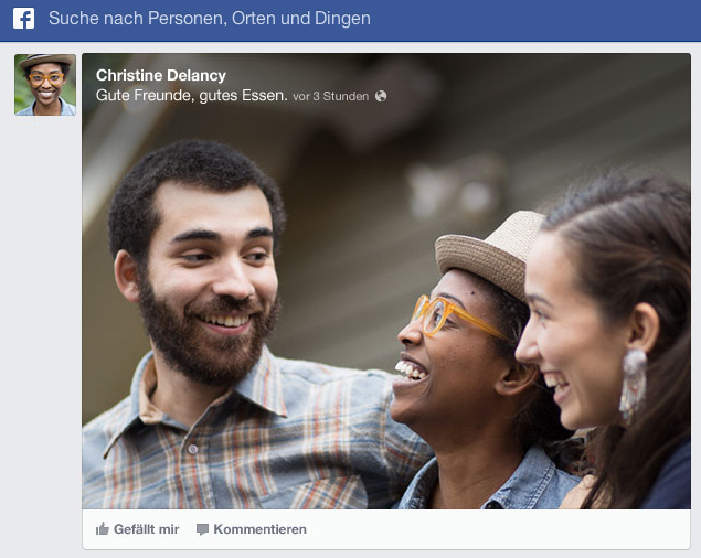 facebook newsfeed unternehmen