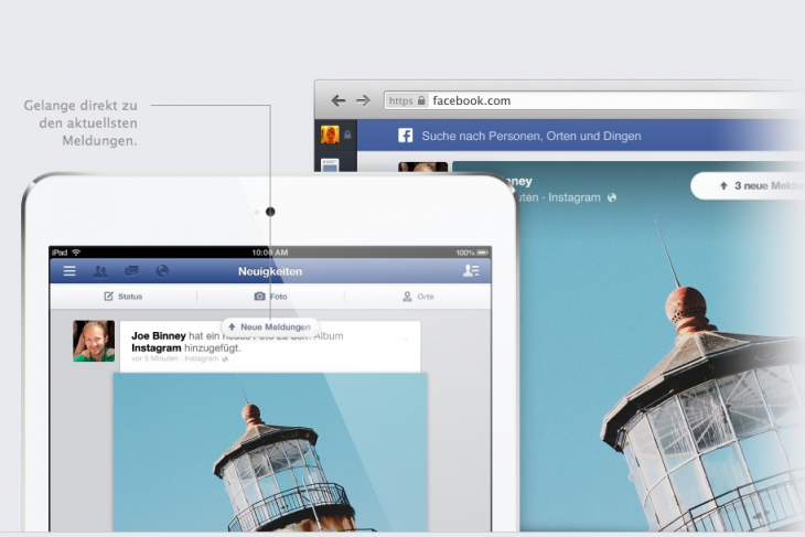 facebook design mobile version