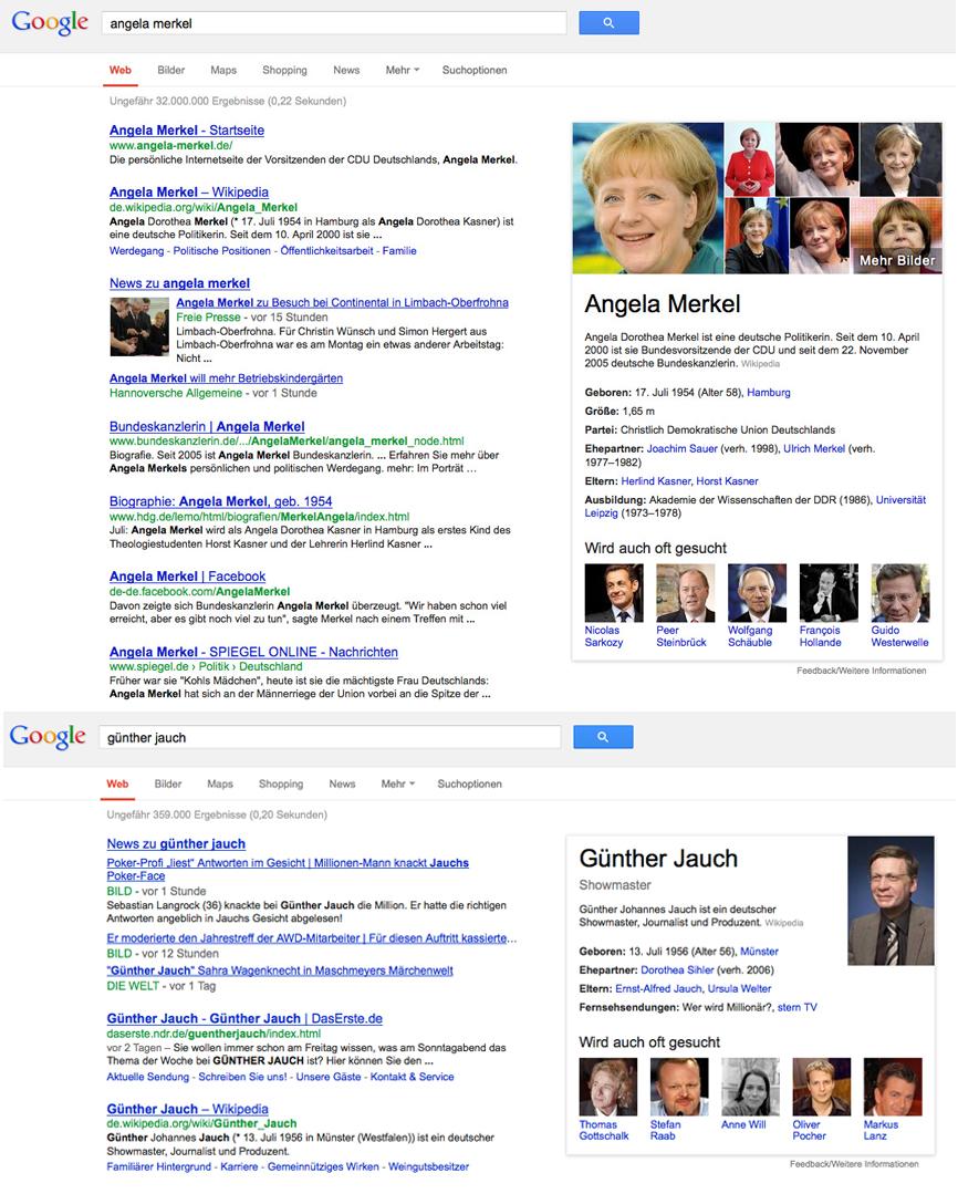 Google als Antwortmaschine