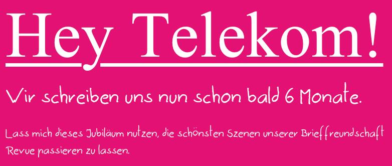 Eine Story über die Telekom
