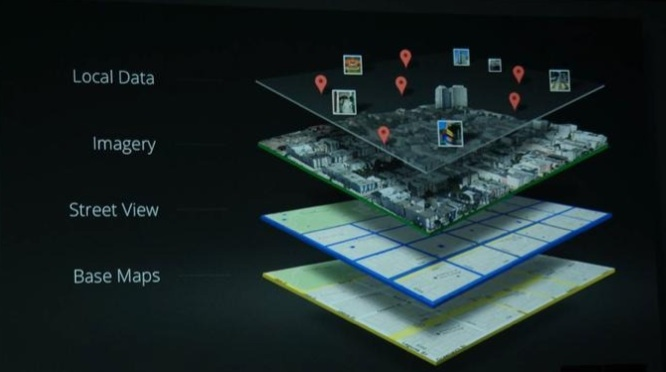 Das neue Google Maps wird mit verschiedenen Daten angereichert