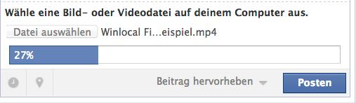 Status Upload firmen Video facebook