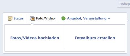 Statusupdate für Firmenvideo Facebook