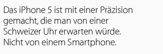 schweizer uhr apple analogien