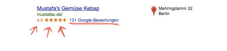 positive google bewertungen