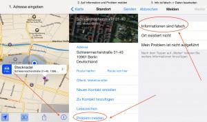 Apple Maps Onlinemartketing