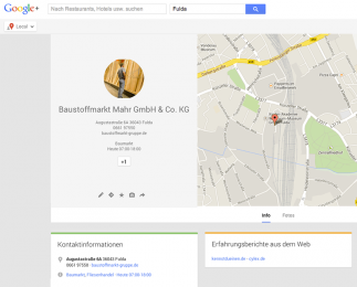 KNAUF Partner Google+ Local