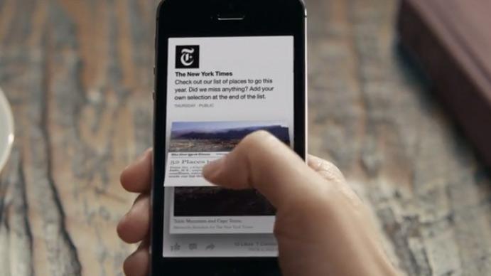 Facebook-paper-app-oeffnen-eines-link-posts