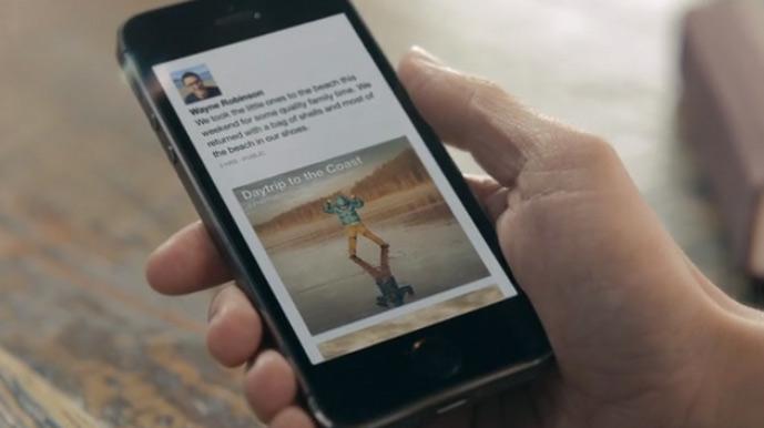 facebook-papaer-app-fokus-auf-dem-bild