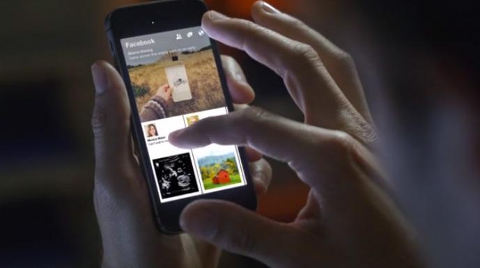 facebook-paper-app-nutzeroberflaeche