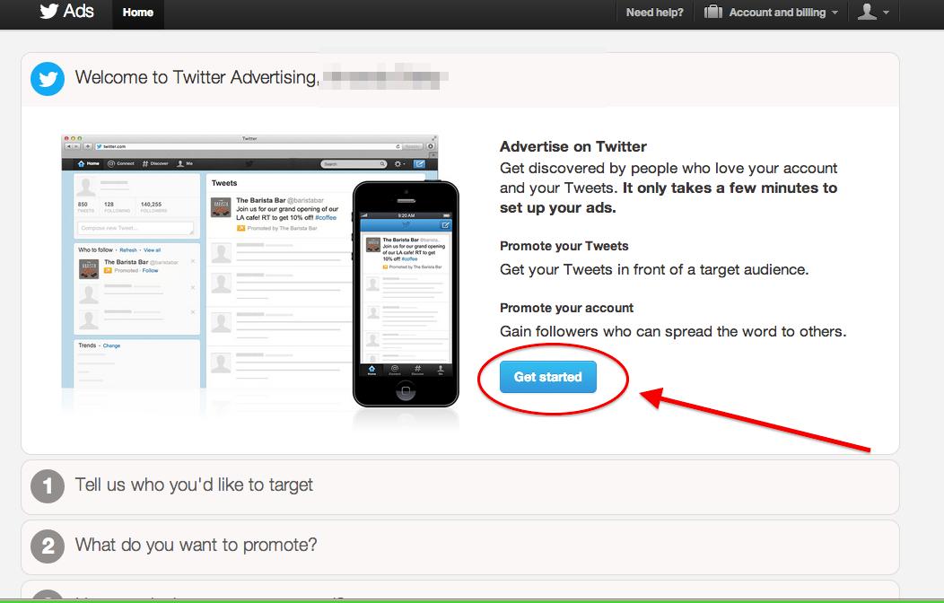 Twitter Ad Einführung