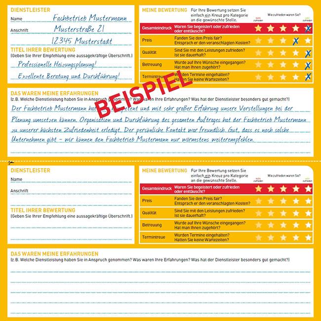 KennstDuEinen Bewertungskarte