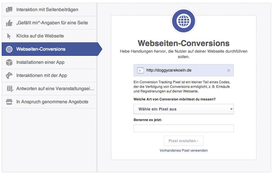 anzeigen-formate-facebook-website-Konversioonen-anzeigen
