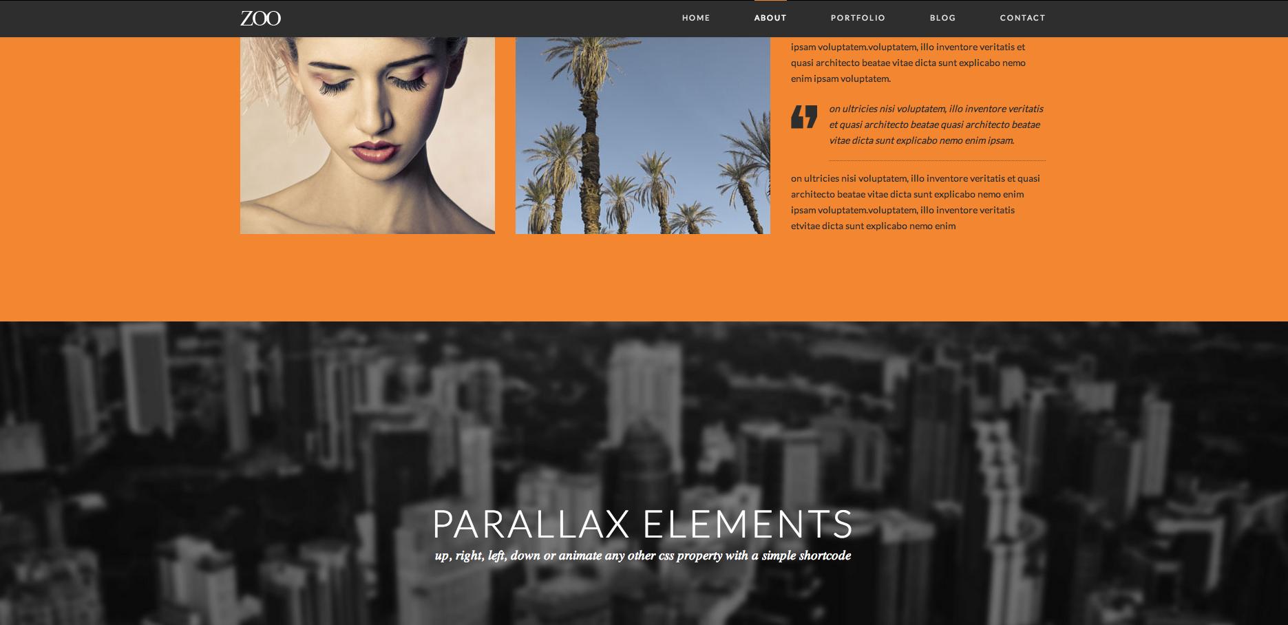 Parallax Zoo