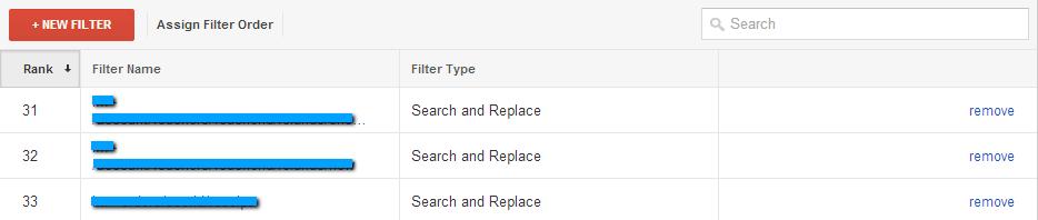 suchen und ersetzen filter falsch