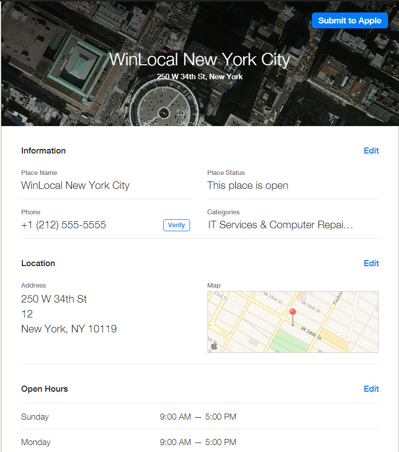 apple-maps-firmeneintrag-winlocal-new-york
