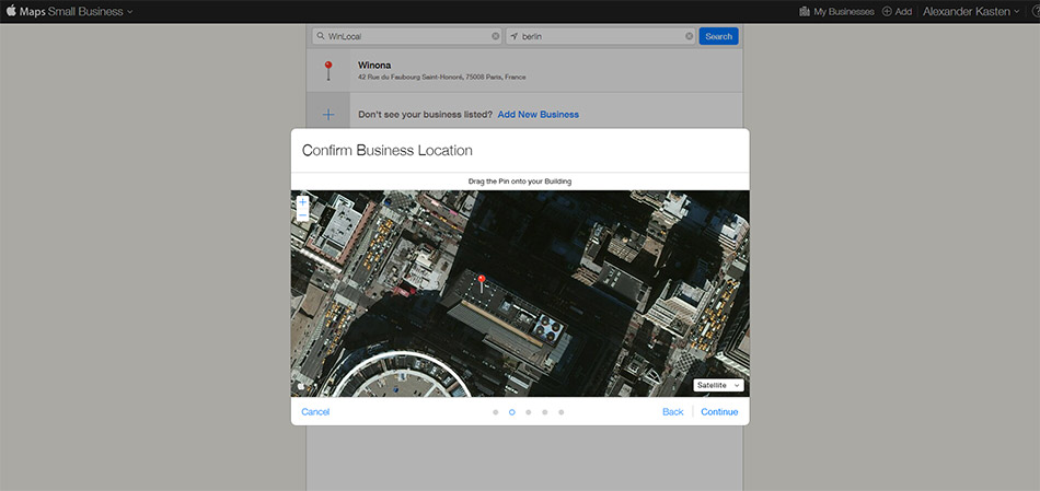 kartenposition-korrigieren-apple-maps