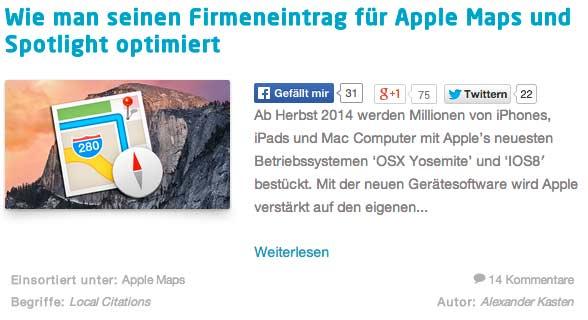 Apple-Maps-Firmeneintrag