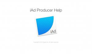 iAd Producer Help