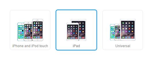Geräte aussuchen